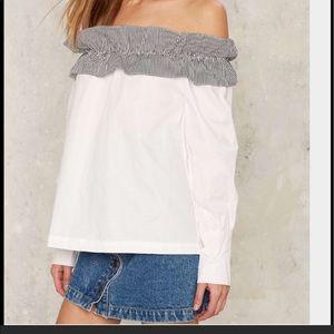 Nasty gal shirt
